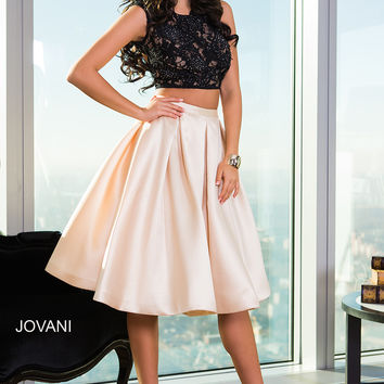 Two-Piece Cocktail Dress 26020 - Short Dresses | Cocktail Dresses