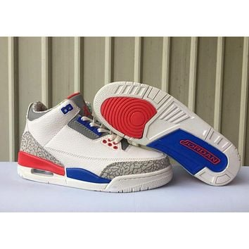 Air Jordan 3 Retro Us Basketball Sneaker 41 47 | Best Deal Online