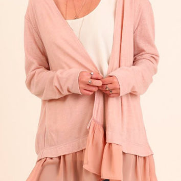 Make You Blush Cardigan
