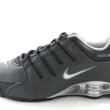 Tagre™ Nike Shox NZ EU Men's Black/3M Reflective Silver Supported Running Shoes 501524 024