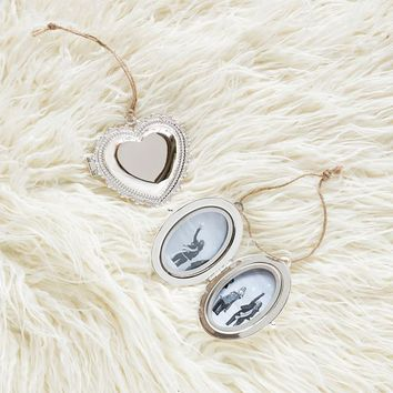 Locket Picture Frame Ornament