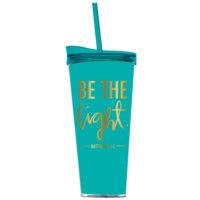 Be The Light Travel Mug-Teal
