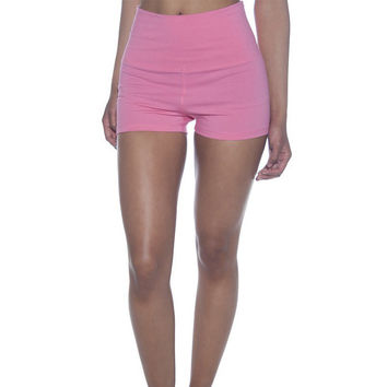 Summer Gym Stretch Mini Pants [6572764615]