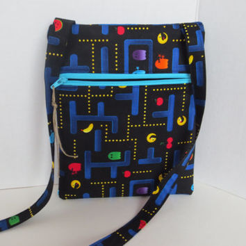 Pac Man - Cross body bag - Gamer - Pac Man crossbody Bag