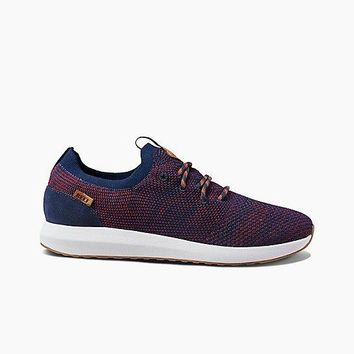 Reef Crusier Knit-Navy/Red