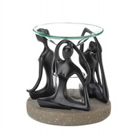 Yoga Positions Oil Warmer