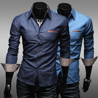 Blue Denim Color Shirt