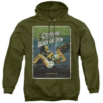 Creature from the Black Lagoon Hoodie Movie Poster Military Hoody