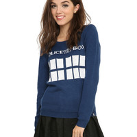 Doctor Who TARDIS Girls Sweater
