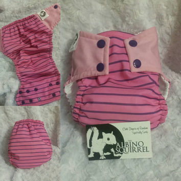 Piglet Cloth Diaper Cover or Pocket Diaper - One-Size or Newborn, S, M, L