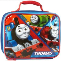 Hit Entertainment Little Boys' Thomas Ziparound Lunch Kit, Blue, One Size
