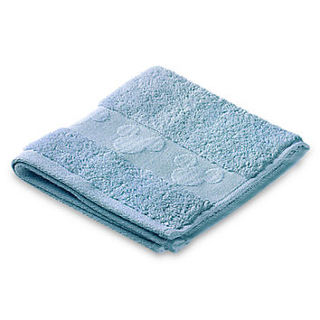 Mickey Mouse Icon Wash Cloth Set - Light Blue | Disney Store