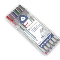 Staedtler Triplus Fineliner Pen - 0.3 mm - Nature Colors - 6 Color Set - JetPens.com