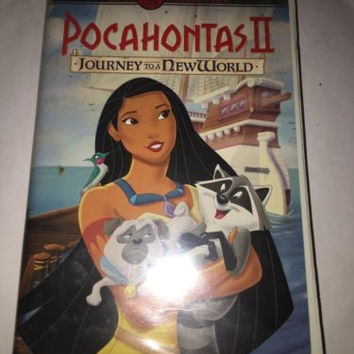 Disney Animated Gold Classic Collection VHS 19850 -  Pocahontas II