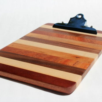 Mixed Wood Clipboard