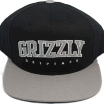 Grizzly hat snap back