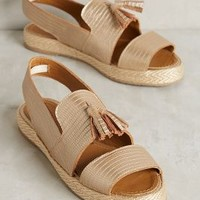 Kaanas Martinique Tasseled Flatforms