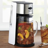 Capresso Stainless Steel Iced Tea Maker