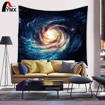Space Starry Sky Deep Outer Space Nebula and Galaxy in the Universe Pattern Tapestry Wall Hanging Large for Bedroom Living Room