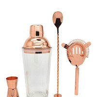 TMD HOLDINGS | Gold Glass Shaker 4-Piece Bar Set | Nordstrom Rack