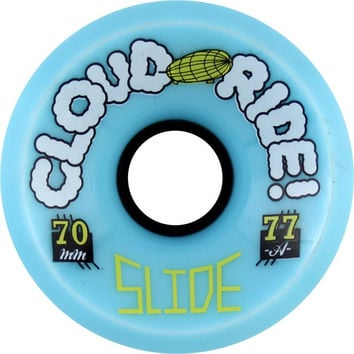 Cloud Ride! Slide 70mm 77a Powder Longboard Wheels