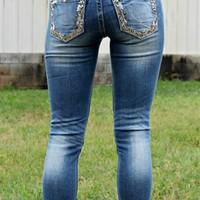 Looking At You Skinny Jeans By Miss Me