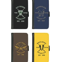Harry Potter House Quidditch Team case for iphone 4 4s 5 5s 5c 6 plus Galaxy S3 S4 S5 Gryffindor, Hufflepuff, Ravenclaw, Slytherin