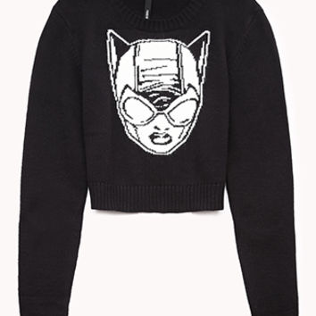 Cropped Catwoman™ Sweater