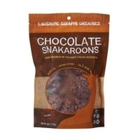 Laughing Giraffe Organics Snakaroons Chocolate (8x1.25 OZ)