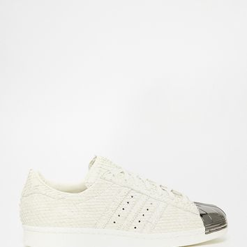adidas Originals Superstar Toe Cap White Trainers