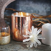 Mine Design for Free People Womens Copper Engraved Candle