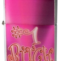 #1 Bitch  Refillable Lighter