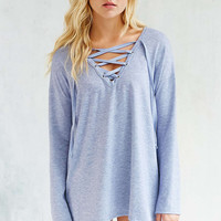 Silence + Noise Rex Lace-Up Tunic - Urban Outfitters