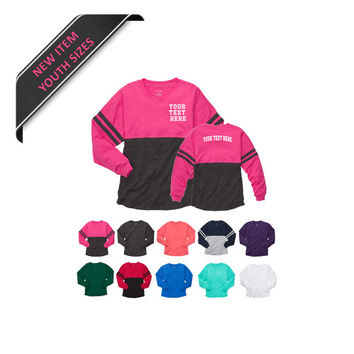 Personalized Youth Pom Pom Pull Overs By Boxercraft 18 Color Options Youth Sizes Small-Large With Free Monogramming