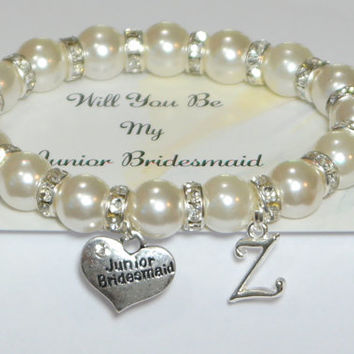 My Junior Bridesmaid Ask Jr Personalized Wedding