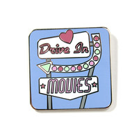 Drive In Movies Pin