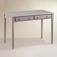 Gray Wood Farran Writing Desk
