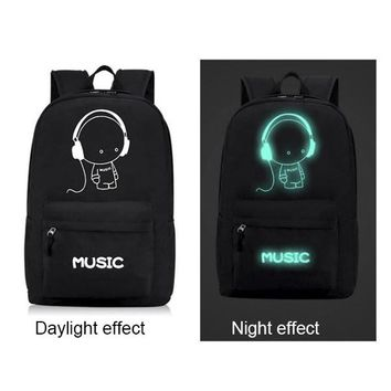Cool Backpack school Coolbaby Oxford Night Fluorescent Light School Backpacks for Teenagers High-Quality Child School Bags Boys Girls P190 AT_52_3