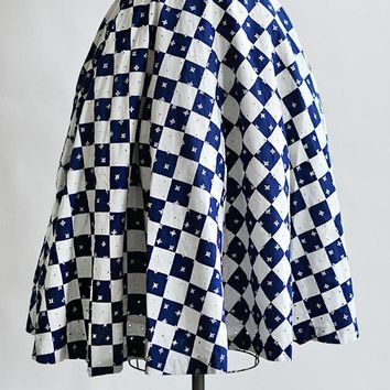 To The Races Skirt