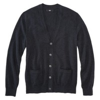 Mossimo Black® Men's Long Sleeve Cardigan Sweater - Assorted Colors
