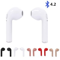 TWS Twins Wireles Earphone Mini Bluetooth V4.2 Earbuds Stereo Headset For Iphone X 8 8 PLUS 7 plus 7 6s 6 plus Galaxy S8