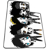 Sleeping With Sirens Cartoon for Kids Blanket, Fleece Blanket Cute and Awesome Blanket for your bedding, Blanket fleece *AD*