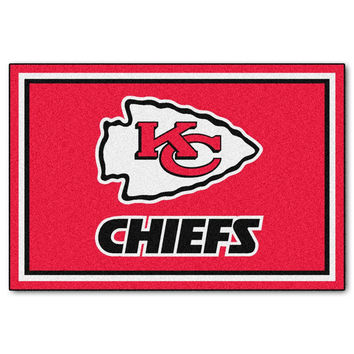 Kansas City Chiefs NFL Floor Rug (5x8')