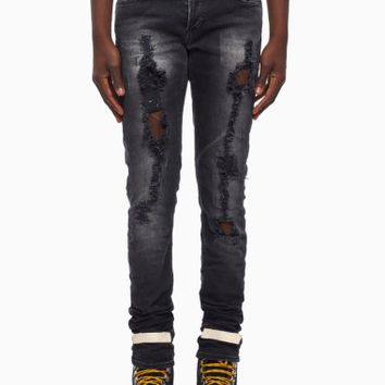 Denim pants from the S/S2016 Off-White c/o Virgil Abloh in black