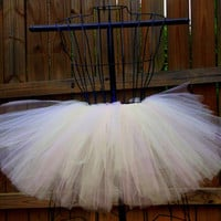 Layla Tutu - Light Pink and Ivory Tutu - Available in Infant, Toddlers, Girls, Teenager and Adult Sizes