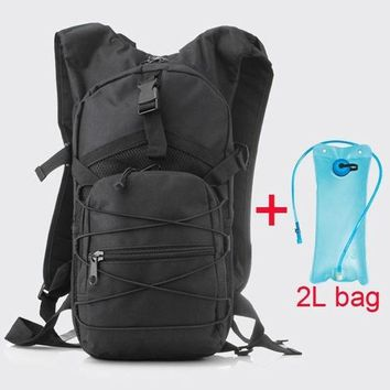 DCCK7N3 New  Bladder Hydration Backpacks Camping Hiking Water Bag Bike Bicycle Cycling Camel Water Bladder bag 2L