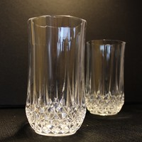 Cris D'Arques-Durand Longchamp Highball Glasses, Pair