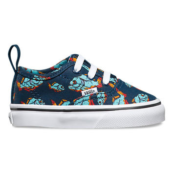 Toddlers Piranha Authentic V Lace | Shop Toddler Shoes at Vans