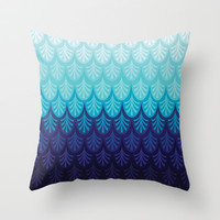 Arctic Ombre! Throw Pillow by TotalBabyCakes