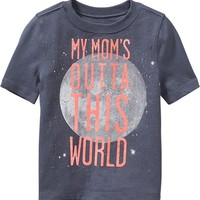 """Old Navy """"Moms Outta This World"""" Tees For Baby"""